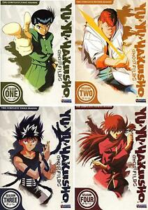 Yu-Yu-Hakusho-Ghost-Files-Complete-Series-All-Season-1-4-1-2-3-amp-4-NEW-DVD-SET