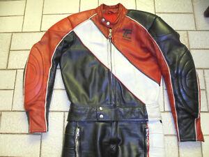 rare-Schwabenleder-Lederkombi-Zweiteiler-Vintage-Motorradkombi-70er-oldschool
