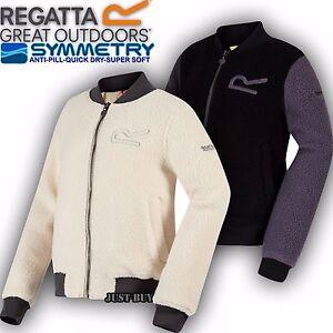 Regatta-Fleece-Kids-Farnley-Bomber-Jacket-Outdoor-Playing-Running-School-Top