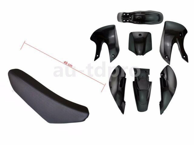 KLX/DRZ 110 PLASTIC KIT SEAT 125 140 150 160 200cc DIRT BIKE THUMPSTER MOTORBIKE