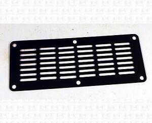 Small-Guitar-Amplifier-Black-Steel-Metal-Grille-Vent-5-8-X-2-3-Inches