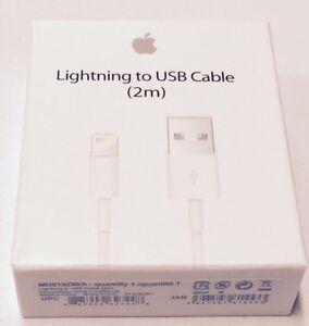 Apple Lightning To Usb Cable 2 M Md819zm: New OEM Original Apple iPhone 7 6S Plus 5 SE Lightning USB Cable rh:ebay.com,Design