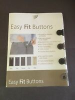 4 Easy Fit Buttons Waist Extenders Add 1/2 To Your Trousers Or Shirt Free Ship