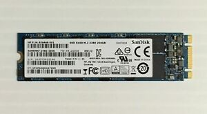 Dell SanDisk X400s M.2 2280 SATA 256GB Solid State SSD 0F2Y07