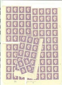 YVERT N° 689 x 100 TYPE DULAC TIMBRES FRANCE NEUFS sans CHARNIERES