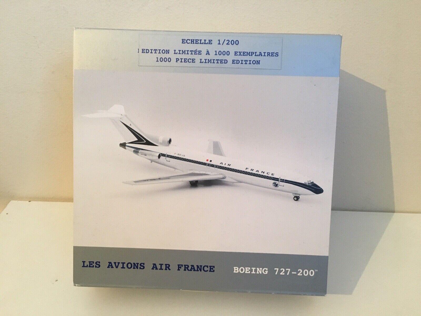 1 200 echelle 8133-BOEING 727-200 Les vions AIR FRANCE - 1000 Pezzo Ltd Ed.