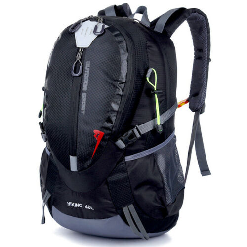 40L Large Backpack Mens Womens Hiking Camping Waterproof Rucksack Travel Bags