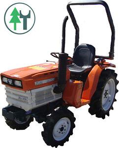 traktor schlepper allrad kubota b1600 bulldog gebraucht. Black Bedroom Furniture Sets. Home Design Ideas