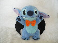 "Sega Official Disney 2011 Lilo & Stitch 14"" plush Halloween Dracula STITCH NWT"