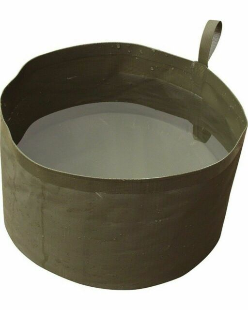 NGT Carp Fishing Rigid Supreme Ground Bait Bowl Collapsible Bucket For Mixing