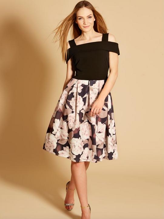 M&Co Boutique Floral Print Bardot Dress BNWT Größe UK UK UK 20 - | Schön und charmant  | Günstige Preise  | Haltbar  26c2a7