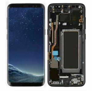 For-Samsung-Galaxy-S8-SM-G950U-G950F-LCD-Display-Touch-Digitizer-Black-Frame