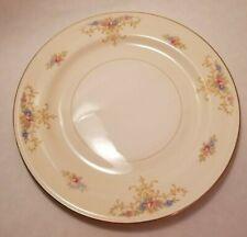 """APPLE BLOSSOM EGGSHELL NAUTILUS 9 7//8/"""" ROUND LARGE DINNER PLATE HOMER LAUGHLIN"""