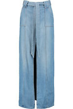 **7 FOR ALL MANKIND** Belted Denim Maxi Skirt