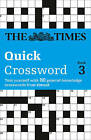 The Times Quick Crossword Book 3: 80 General Knowledge Puzzles from the Times 2 by The Times Mind Games, Richard Browne (Paperback, 2002)