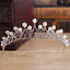 Bridal-Princess-Rhinestone-Crystal-Pearl-Wedding-Hair-Tiara-Crown-Prom-Headband thumbnail 3