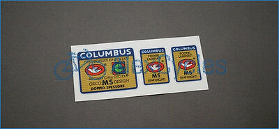 Bicycle Columbus Gilco MS Design Doppio Spessore Frame /& Fork Decals Sticker Set