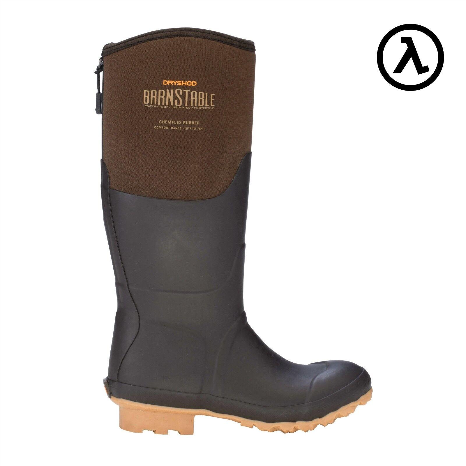 Dryshod Barnstable para mujer botas todas las condiciones de la granja BSB-WH-br-todos Los Tamaños