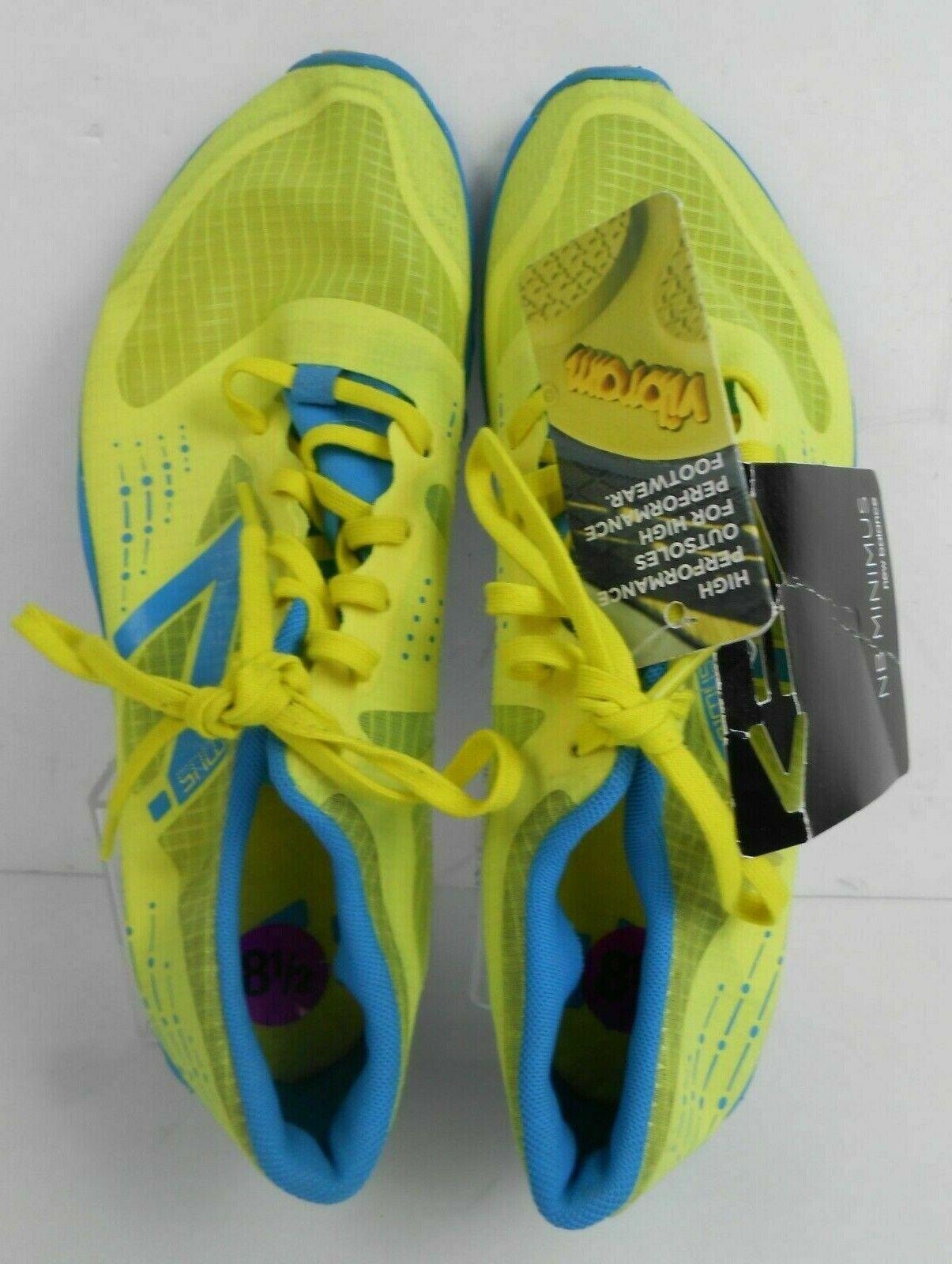Nuovo Balance Minimus scarpe da  corsa femminile US 8.5 B pista minimalista WT00YB giallo  la vostra soddisfazione è il nostro obiettivo