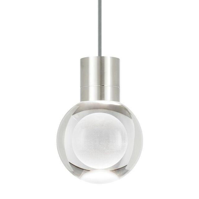 Tech Lighting Td Mina Pendant 3clgy Satin Nickel Ledwd 700tdminap3cys