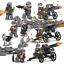 8pcs-set-DE-Militaer-Soldaten-mit-Waffen-Bausteine-Bricks-WW2-Mini-Armee-Figuren Indexbild 7