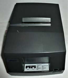 Epson TMU-325D validation receipt printer M133A USB interface black Tested