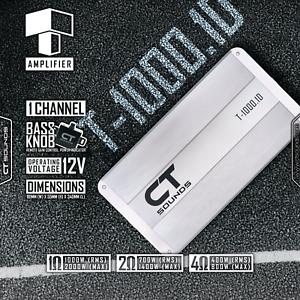 CT-Sounds-T-1000-1-Monoblock-Car-Audio-Amplifier-1000w-RMS-Subwoofer-Mono-Amp