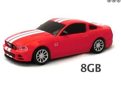 Ford Mustang GT USB Flash Drive 8GB Blue  Landmice