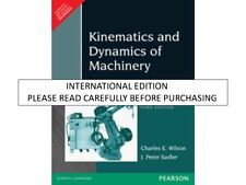 Kinematics And Dynamics Of Machinery Charles E Wilson Pdf