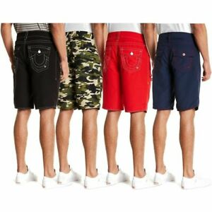 True-Religion-Men-039-s-Big-T-w-Flap-Pocket-Boardshorts