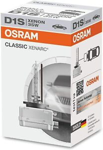 LAMPADA OSRAM XENON D1S 35W XENARC CLASSIC 4150 KELVIN 66140CLC