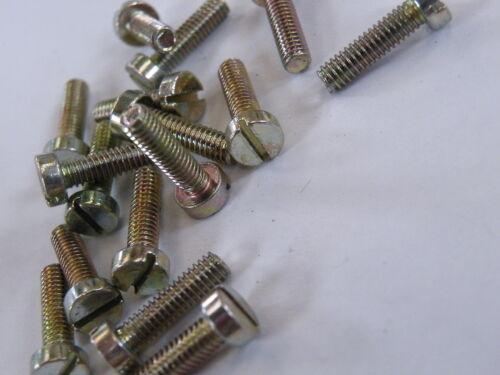 "25 Pc  4BA Cheese Head Screw 1//2/"" Model Making Crafts Electronics FB12-4BA EG27"
