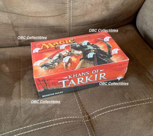 Khans of Tarkir Sealed Booster Box MTG English Pioneer Modern Fetch Land!?