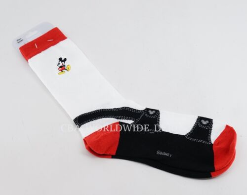 NEW Disney Parks Mickey Mouse Men/'s Sandals Socks One-Size