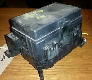 09 14 suzuki alto 1 0 petrol engine bay fuse box fusebox ebay rh ebay co uk