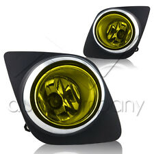 2008-2012 Toyota Rav4 Fog Lights w/Wiring Kit & Wiring Instructions - Yellow