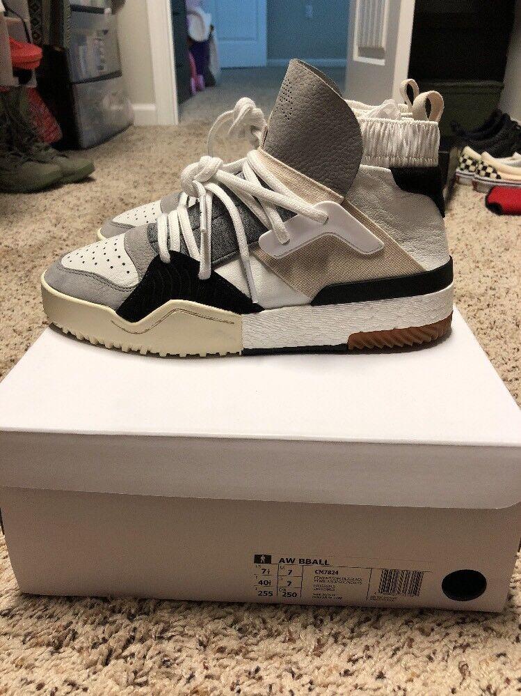 Adidas oh oh Adidas bball bianco dimensioni 7,5 7c2b72