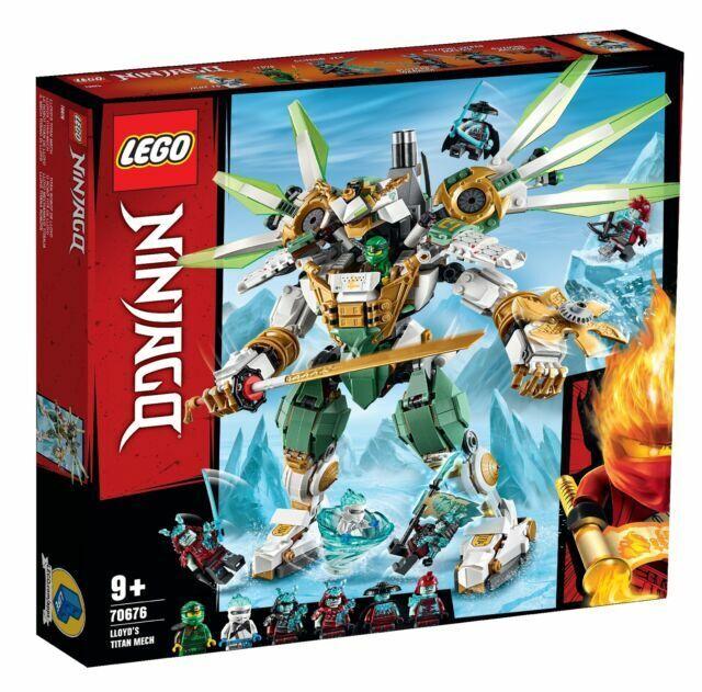 Lego Ninjago Lloyd S Titan Mech 70676 For Sale Online Ebay