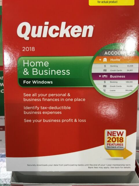 quicken home business 2018 windows finance budget download or cd