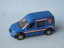 Matchbox Ford Transit Connect Parking Enforcement Traffic Warden Blue Toy Car UB