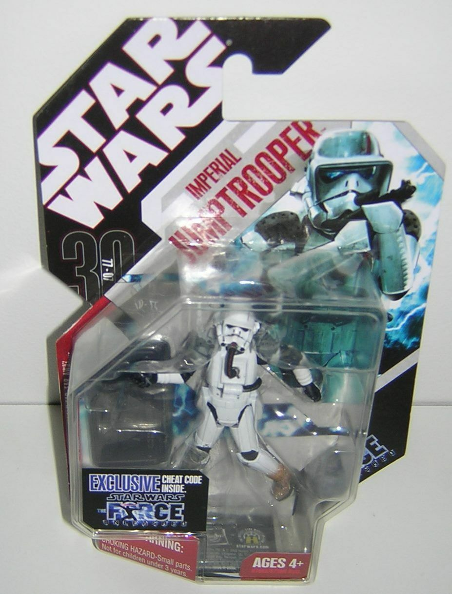 Star Wars 30th Anniversary TAC Force Unleashed Unleashed Unleashed Imperial Jumptrooper 9e94f4