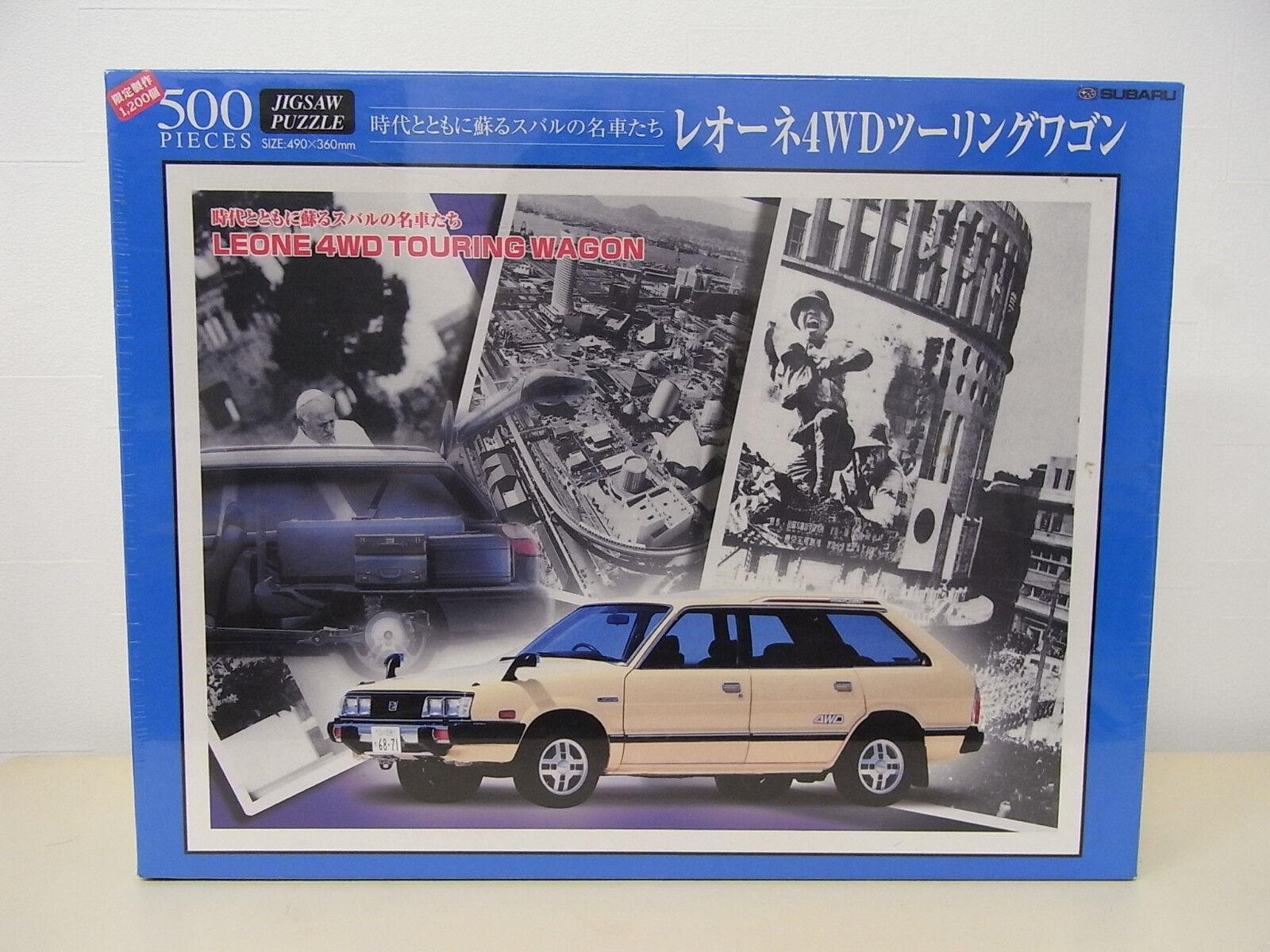 [GOODS] Subaru Leone 4WD Touring Wagon Jigsaw Puzzle 500pieces Japan EA81 AB
