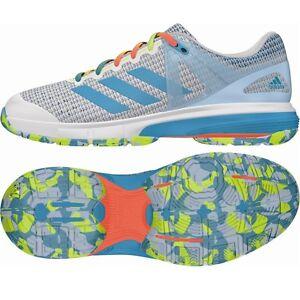 brand new 10e03 3c73e Das Bild wird geladen adidas-Court-Stabil-13-Damen -Handballschuhe-Sprint-Web-