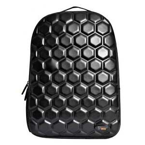 225a11471d88 Details about URBAN JUNK UJ Classic Backpack Hex Black School Bag 23162  **FREE HARIBO