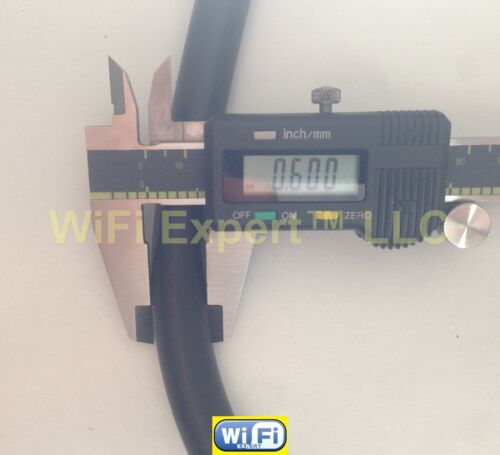 50-200/' TIMES® LMR600 LOW LOSS FLEX COAX RF CABLE PL259 SO238 N TYPE Male Female