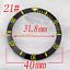 40mm-Red-Black-Blue-Green-Ceramic-Titanium-bezel-insert-fit-GMT-automatic-watch thumbnail 22