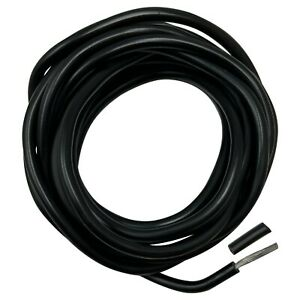 Fusible Link Wire 12 AWG Gauge Universal Black 10 FT Spool Coil - USA Made