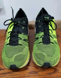 6f811779abf Nike 698181 300 Flyknit Lunar 3 Size 12 Electric Green Nike Mens ...