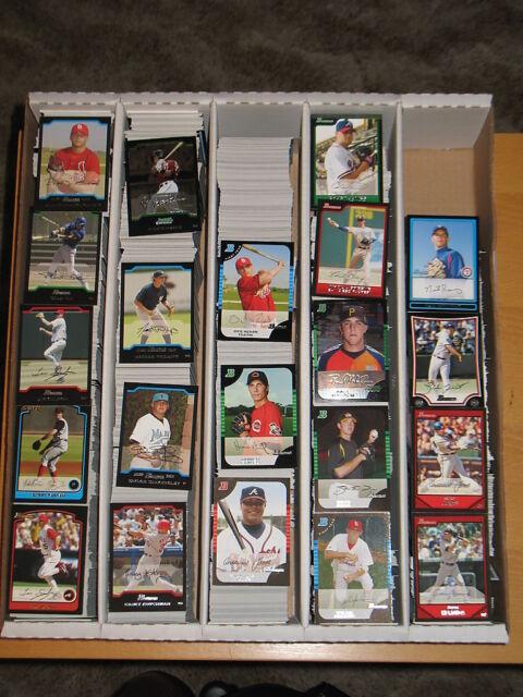 2009 Bowman & Bowman Chrome Base & Inserts Large Lot - Approximately 1447 cards