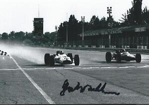 Details about Jack Brabham signed autograph Racing Legend Rare COA LOOK!